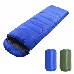 compression sleeping bags Australia - New Arrival Portable Lightweight Envelope Sleeping Bag with Compression Sack for Camping Hiking Backpacking