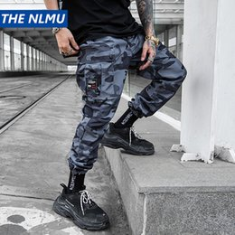 military trousers men Australia - Hip Hip Streetwear Men's Camouflage Cargo Joggers Pants 2019 Spring Men Military Style Harem Trousers Casual Pants Thin WJ220 T200728