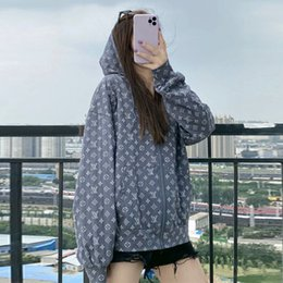 Wholesale pre coat resale online - The premium web celebrity D printing is the same as the pre fall fashion casual hoodie coat and hoodie woman