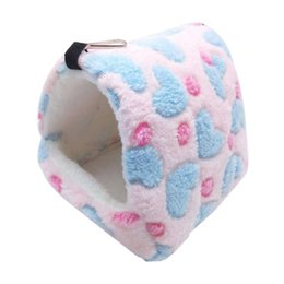 hamster beds UK - New Small Pet Hamster Guinea Pig Chinchilla Rabbit Squirrel Hedgehog Bed House Nest Winter Warm Bed House Rat Nest Hanging bed