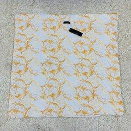 venda por atacado AR carta impressão Bebê Quilts quente recém-nascido cobertor envoltório infantil Square