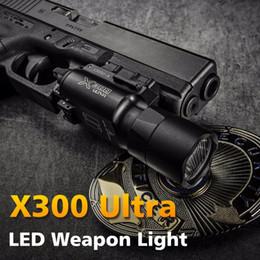 Venta al por mayor de Tactical X300 Ultra Pistol Gun Light X300U Lanterna Flashlight Handgun Scout Light