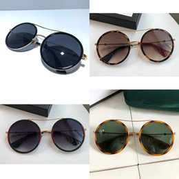 designer eye frames for women NZ - Mixed Women 0061 Sunglasses Fashion Style Color Retro Round Frame for Women Top Quality 0061s Eye Glasses Uv Protection Lens with Box