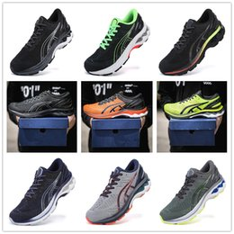 gel shoes run UK - Gel Kayano 27 mesh Sneakers for Men Trainers Men's Running Shoes Man Sports Shoe Male Jogging Chaussures Athletic Training Hommes Baskets 66