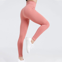 women working out yoga pants NZ - SVOKOR Side Mesh Sport Leggings Seamless Women Breathable Yoga Pants Work Out Clothing Gym Push UP Training Running Sports Pants