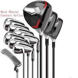 Golf Kulüpleri M-altı Tam Set Golf Putter + Sürücü 3. 5. Fairway Woods + Golf Irons Real Resimleri Satıcıyla