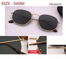 club master sun glasses Canada - 2019 new club Women Men master Sunglasses square Brand Designer flat hexagonal sun Glasses Driving UV400 gafas oculos de sol feminino rd3548