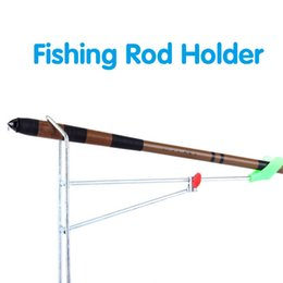 standing pole Australia - (A404X) Folding Fishing Rod Holder Stainless Ground Support Stand Fish Pole Bracket New