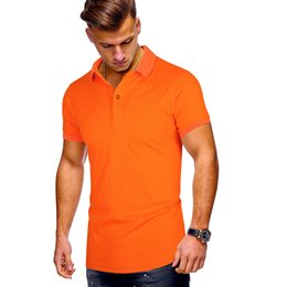 slim fit polo for men Australia - Summer polo shirt for men short sleeve classic polos shirts casual men cotton polo shirt men clothing fashion slim fit tops