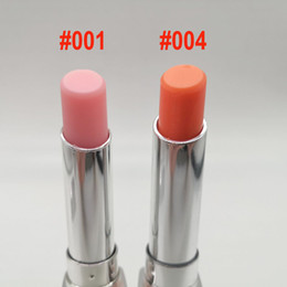 Wholesale Mini Size High Quality Addict Lip Glow Backstage Pros Lipstick Aluminum Tube Pink 001 Coral 004 1.5g NET WT 0.12OZ