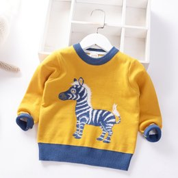 western fashion shirts UK - 2020 Autumn new men's knitted double-layer warm baby Warm pullover pullover base shirt long-sleeved western-style sweater fashion