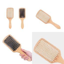 Парикмахерское Вход для волос Гребень газосодержащого Большого совет Combs Удобной Wave Hairs Кисть для укладки инструмента Товаров Бытовой Sundries 5dy E2 на Распродаже