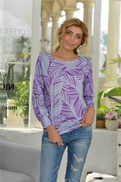 Wholesale oversized long t shirt women online – design Oversized T Shirts for Women Loose Casual Long Sleeve Tie Dye Tops Colors S XL