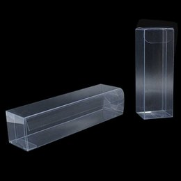 clear small plastic packaging UK - 30pcs lot Transparent PVC Plastic Box For Wedding Favor Birthday Party Small Gift Package Box Clear Cosmetic Jewelry Packing
