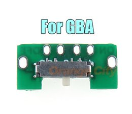 Wholesale games on consoles online – design Replacement Power Switch For GBA ON OFF Swicth New on off power switch Board for GBA game console repair