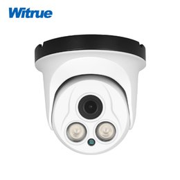 sharp mini camera UK - Witrue Mini Dome Camera Sony IMX323 AHD Camera 1080P HD 2pcs Powerful Array LED 40M IR Distance Video Surveillance Camera