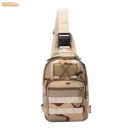 vintage military canvas shoulder bag Australia - Vintage Military Men Canvas Messenger Bag Mens Fashion Military Shoulderbag Camping Hiking Camouflage Mini Bag 3