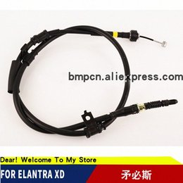 cable assy NZ - CABLE ASSY PARKING BRAKE for elantra XD Vreh#
