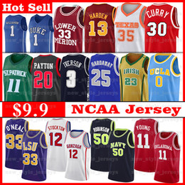 ingrosso golden tiger-2020 Auburn NCAA LSU Tigri Jersey Shaquille O Neal Prima Hardaway Young Trae Marquette Dwyane Golden Eagles Iverson Basketball Jerseys