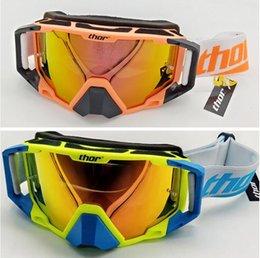 Thor goggles off-road helmet windproof dust-proof motorcycle helmet goggles riding goggles on Sale