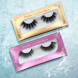 nice pack NZ - YioWio Nice Packing Curling New 5D Light 100% Mink Eyelashes Eye Sexy Thick Mink False lashes Natura Long Fake Eyelashes Eye Ful Strip Lash