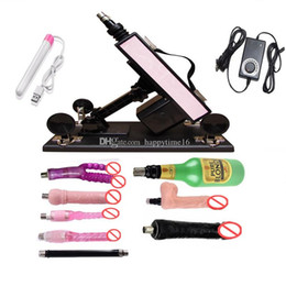 big machine for woman sex Canada - China automatic Sex Machine Gun Set with Big Dildo and Vagina Cup, Adjustable Speed Pumping Gun, Sex Toys for Men and Women