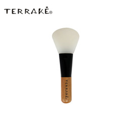 Discount face masks skincare TERRAKE NEW Face Makeup brush MINI Mask-brush fan Silicon wood handle Skincare beauty Tool Liquid Cream Foundation brush
