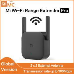 Ingrosso Globale Versione Xiaomi Mi Wi-Fi Range Extender Pro Wifi Amplifier Pro Router 300M 2.4G ripetitore di rete Mi Wireless Router Wifi