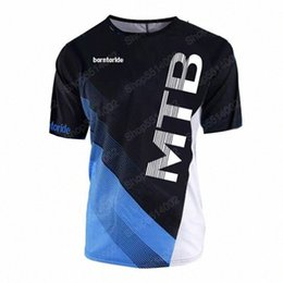 race bmx bikes UK - 2020 2020 New Quick Dry Short Sleeve Downhill Jersey Motocross Cycling Jerseys Moto GP Mountain Bike T Shirt BMX DH Cycling Clothes s3GT#