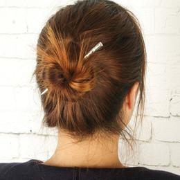 Bar Haarnadeln Weinlese-einfache Boho-Haar-Klipp-Frauen-Mädchen-Haar-Zusätze für Hochzeit Beach Fashion Mädchen Haarspange Statement Schmuck im Angebot