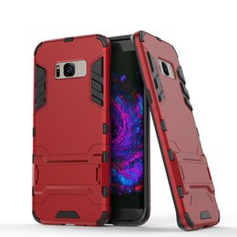 cool armor NZ - Cool Fashion armor Protective case For Samsung galaxy S10 S10e S9 S8 Plus S7 S6 Edge S5 Note 9 NOTE8 5 4 Stand Phone cover case