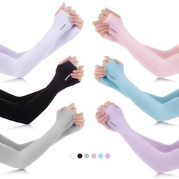 США STOCK Anti UV защиты рукава Спорт ВС Блок вождения Открытый летний Arm Sleeve охлаждения рукава Обложки 2шт / пара на Распродаже