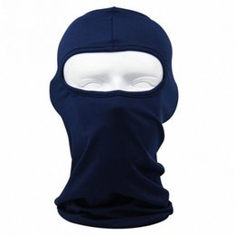 sports face guard Australia - 2018 Balaclava Mask Windproof Cotton Full Face Neck Guard Masks Headgear Hat Riding Hiking Outdoor Sports Cycling Masks o4vn#