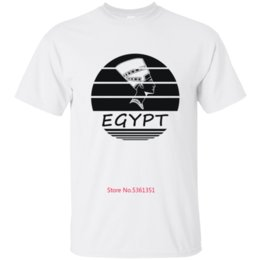 plus size clothing for sale Canada - Cheap Sale Egypt Nefertiti T-Shirt For Men T Shirt For Mens Tee Shirt Man Clothing Cool Homme Plus Size 3xl 4xl 5xl Design Tops