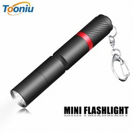 pen led torch NZ - Mini LED Portable Waterproof Torch With High Quality XPE Wick Pen Lamp Using Battery Suitable For Daily Lighting z8c8#
