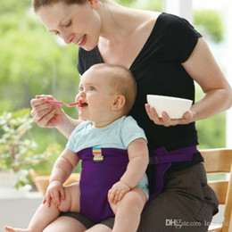 infant feeding chairs UK - Baby Chair Portable Infant Seat Product Dining Lunch Chair Seat Safety Belt Feeding High Chair Harness Baby chair seat