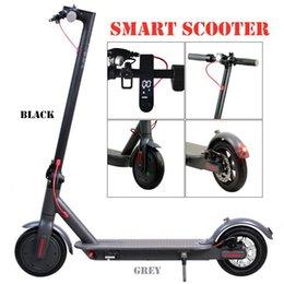 Monopattino elettrico Stock 250W Folding Bike Scooter bicicletta per la visualizzazione per adulti 36V con LED ad alta velocità Off Road MK083 in Offerta