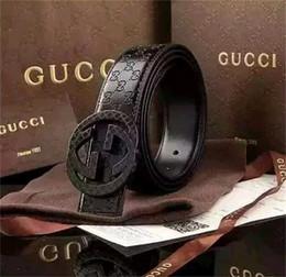 Nuevos 2020 cinturones de diseño cinturones para hombres superiores hebilla de cinturón mens cinturones de cuero al por mayor Gucci envío gratis 131 en venta