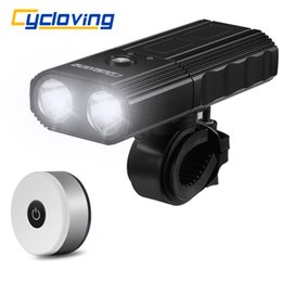 power bicycles Australia - Cycloving Bike light 2LED 2200Lums bicycle lights waterproof IPX3 Power Bank 4000mah and newer bike tail light accessories T200718