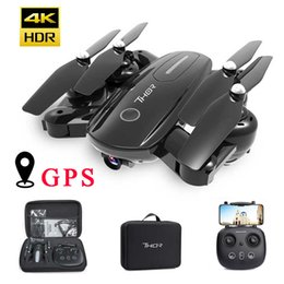 gps control rc UK - KaKBeir RC Quadcopter GPS 4K Drone Optical Flow HD 1080P Camera Professional Aircraft Folding Drones 500m Toys for Kid Gift