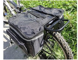 bicycle carry Australia - Mountain bike rack carrying Bicycle bicycle riding rear bag double bag riding equipment