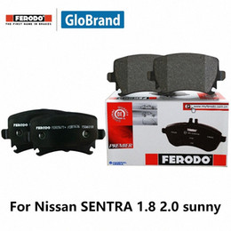 set brake pads Australia - 4pieces set Ferodo Rear Car Brake Pads For SENTRA 1.8 2.0 Sedan sunny FDB796-D DHwb#