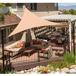 uv sun block Australia - Greenhouse Canopy Cover Triangle Sun Shade Sail Patio Deck Beach Garden Yard Outdoor Uv Block For Patio Garden Outdoor Activity