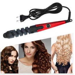 pro wand Australia - Professional Hair Curler Roller Magic Spiral Curling Iron Fast Heating Curling Wand Electric Hair Styler Pro Styling Tool