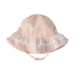 shades christmas Australia - Girls go out shade Fisherman sun sun lace-edge children's sunscreen fisherman hat Princess hat