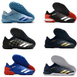 ic packs NZ - Predator Mutator 20.3 L TF IC Durable Pack Turf Indoor PP Paul Pogba Mens Soccer Football Shoes Cleats Boots Size 39-45