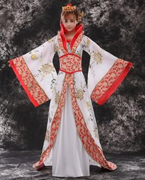 wu tang clothes UK - Women Tang Dynasty Imperial Clothes Wu Zetian Performce Costume Female Hanfu Clothes Chinese Princess Stage Dance Performance 18