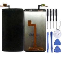 alcatel idol lcd UK - LCD Screen and Digitizer Full Assembly for 5.5 inch Alcatel One Touch Idol 3   6045