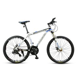 mountain alloys NZ - Classic Mountain Bike 27-Speed Adult Male And Female Dual Disc Brake Aluminum Alloy 26 Inches
