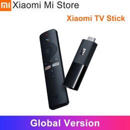 Оригинальный Xiaomi Mi TV Stick Android TV 9,0 Четырехъядерный 4K HDR Dolby DTS HD Dual Декодирование 1GB RAM 8GB ROM Google Assistant Netflix на Распродаже